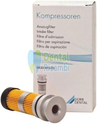 Picture of Intake filter for air compressor Durr Primo, Duo, Trio, Quattro (0832-982-00)