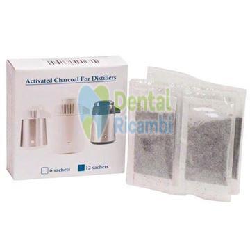 Immagine di Euronda carboni attivi per distillatore Aquadist 12 bustine ( 814003 )